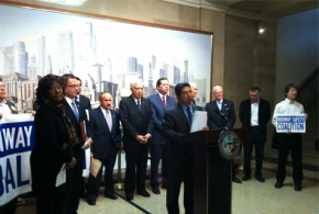 Mayor Emanuel and Chicago Aldermen Urge General Assembly to Pass Driver's Licenses for Immigrants
