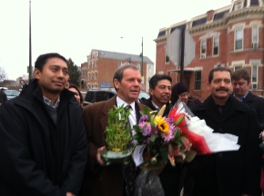 Latino Community Leaders Thank Senate President John Cullerton